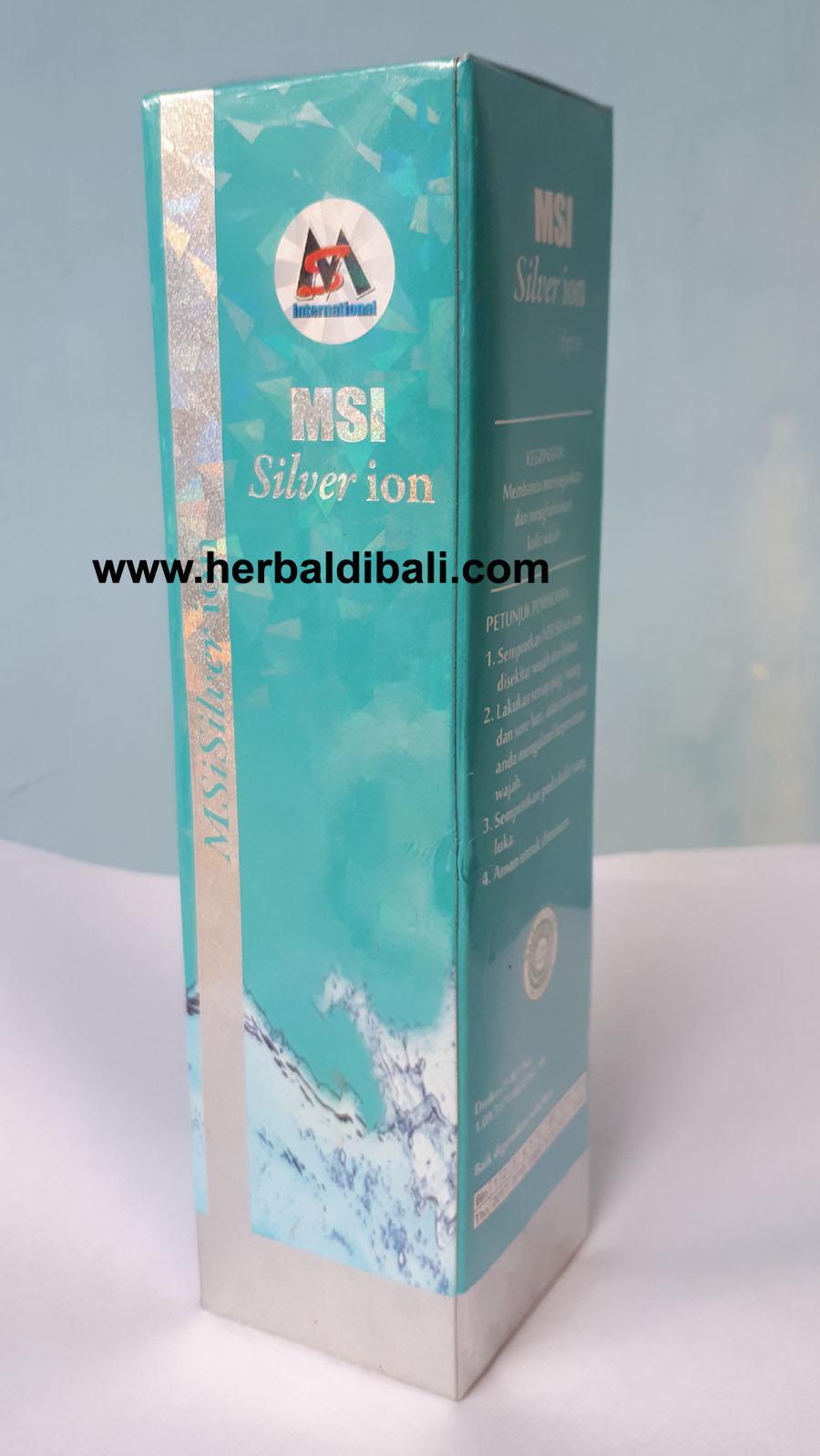 Msi Bio Spray Silver Ion Best Buy Indonesia Perak Original Member Jual Di Denpasar Bali Produk Herbal